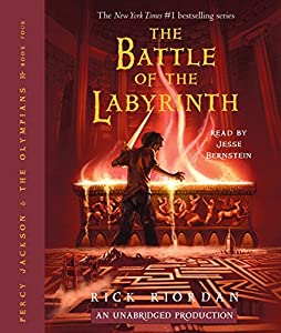 The Battle of the Labyrinth: Percy Jackson, Book 4 | Livre audio
