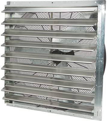 Strongway Enclosed Variable Speed Shutter Exhaust Fan – 36in. 1 2 HP, 6128 CFM