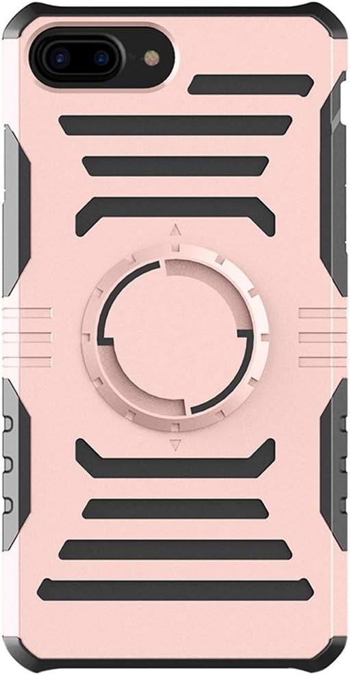 Weeksu Bueno for iPhone 8 Plus y 7 Plus Brazalete Deportivo for Exteriores multifunción con PC Desmontable + Estuche Combinado de TPU (Negro) (Color : Rose Gold)
