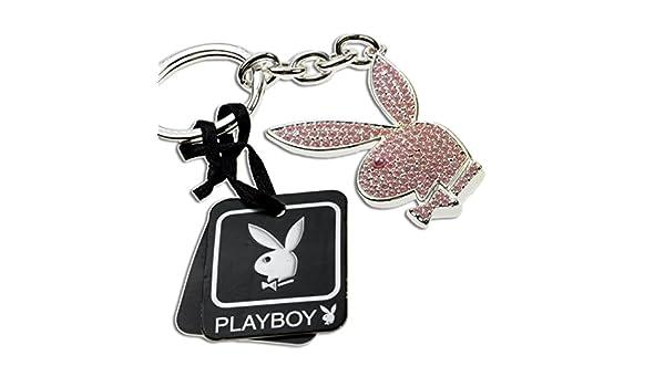 Playboy-Llavero de conejo de Pascua de colour rosa, de ...