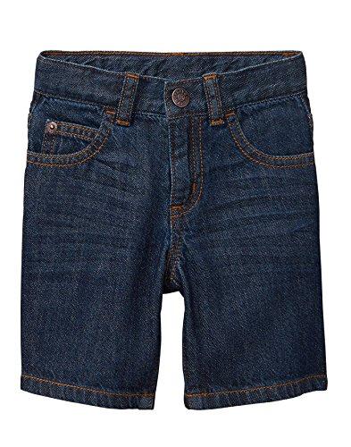 Dark Blue Short (Crazy 8 Toddler Boys' 5-Pocket Basic Denim Short, Dark Wash Denim, 5T)