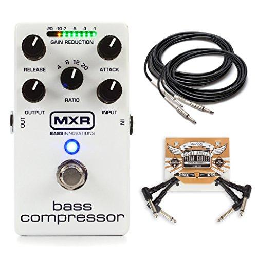 MXR M87 Bass Compressor Pedal w/ 4 Cables