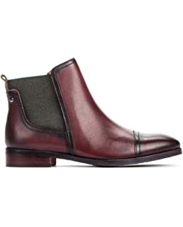 9e802e31 Pikolinos Leather Ankle Boots Royal W4D: Amazon.co.uk: Shoes & Bags