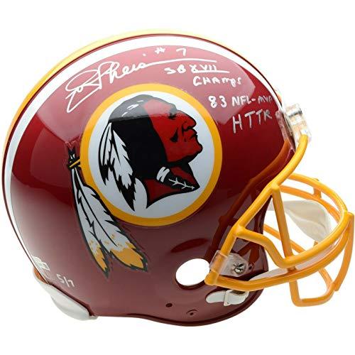 JOE THEISMANN Autographed Washington Redskins Proline Authentic Helmet Limited Edition of 7 FANATICS ()