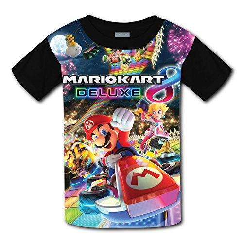 Price comparison product image ASD JKL Mario-Kart-8 Vogue 3D Printing Children's T-Shirts