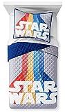 Franco Star Wars Retro 40th Anniversary Full/Queen Quilt & Sham Set