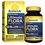 Renew Life - Ultimate Flora Probiotic Extra Care - 50 billion - 30 vegetable capsules