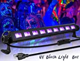 Black Light,ECHTPower 9LED 27W UV LED Bar