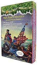 Magic Tree House Volumes 21-24 Boxed Set: American History Quartet