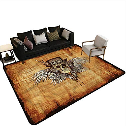 - Skull,Designed Kitchen Bathroom Floor Mat 24