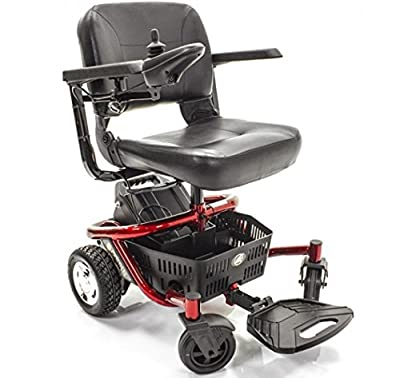 Golden Technologies - LiteRider Envy - Compact Power Chair - Red