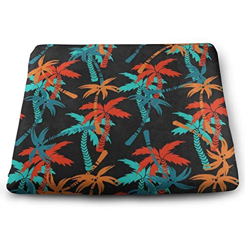 Ladninag Seat Cushion Palm Tree Chair Cushion Designer Offices Butt Chair Pads for Wheelchairs