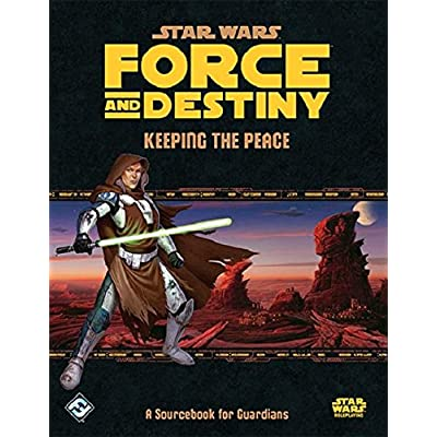 Star Wars: Force and Destiny - Keeping the Peace: Fantasy Flight Games: Toys & Games