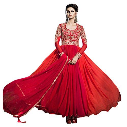 triveni-pretty-beige-colored-printed-cotton-salwar-kameez