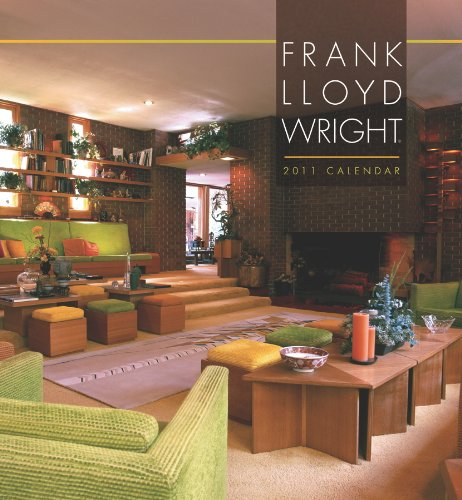 Frank Lloyd Wright 2011 Wall Calendar