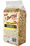 Bob's Red Mill Honey Almond Granola, 18 Ounce (Pack of 4)