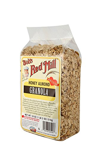 Bob's Red Mill Honey Almond Granola, 18 Ounce (Pack of ()