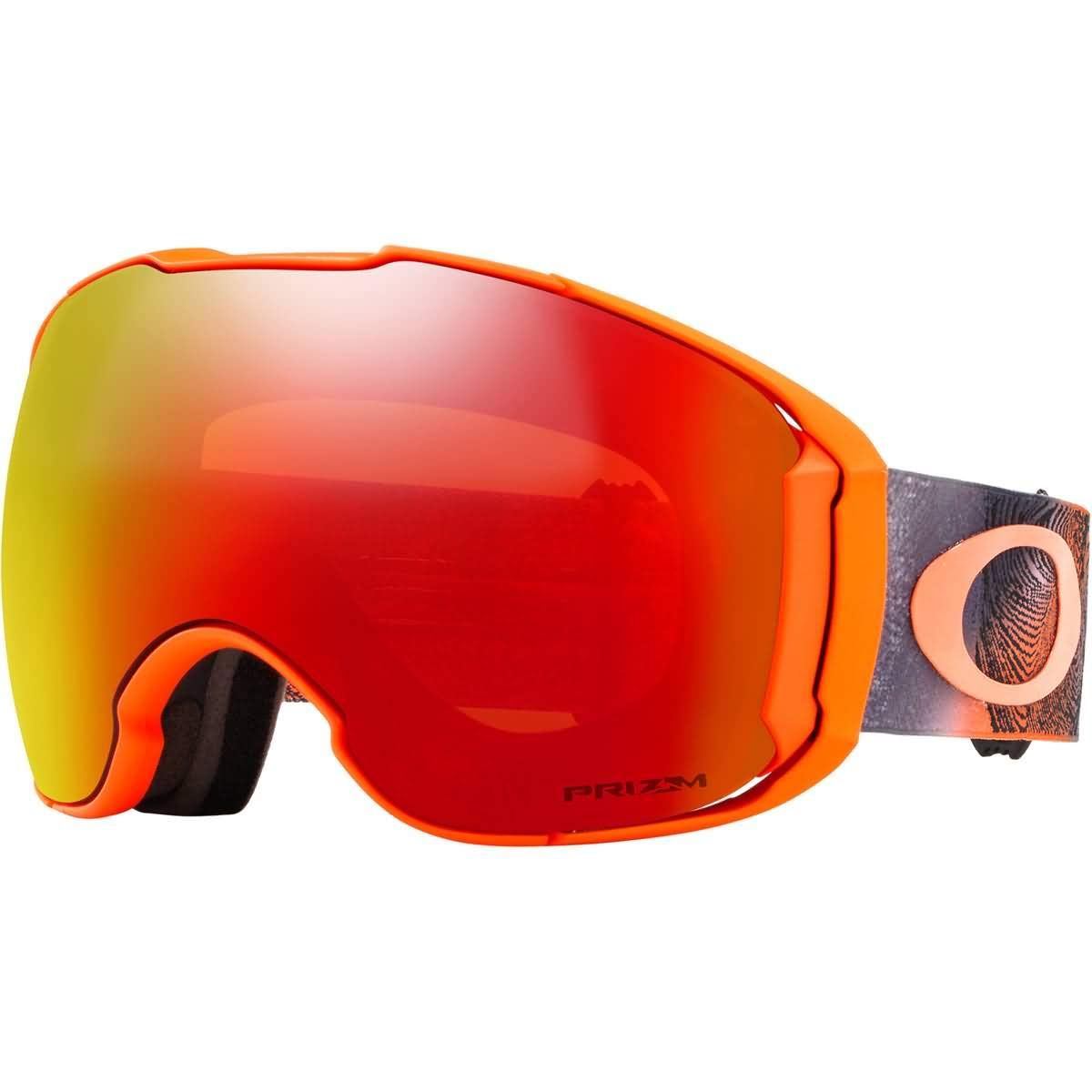 da35bb71257 Amazon.com   Oakley Airbrake XL Asian Fit Men s Snowmobile Goggles - 2018  Team Oakley Prizm Torch Iridium Large   Sports   Outdoors