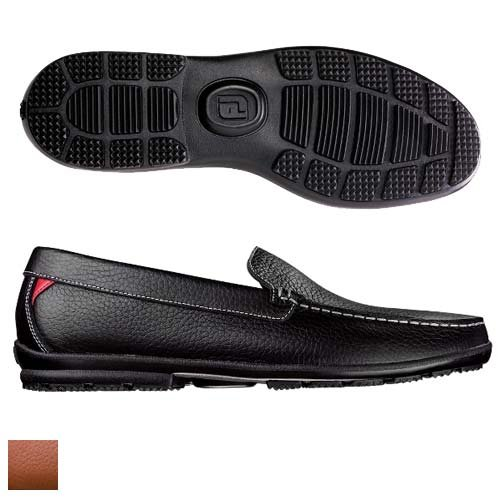 FootJoy Men's Club Casuals Leather Loafers 79054 - Previous Season Shoe Style (Golf Loafers)