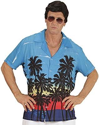 NET TOYS Camisa Hawaiana Camiseta Hawaii Palmeras M/L 50/52 Top de Playa Atuendo caribeño Disfraz Hula Hula Ropa Palmera Aloha: Amazon.es: Juguetes y juegos