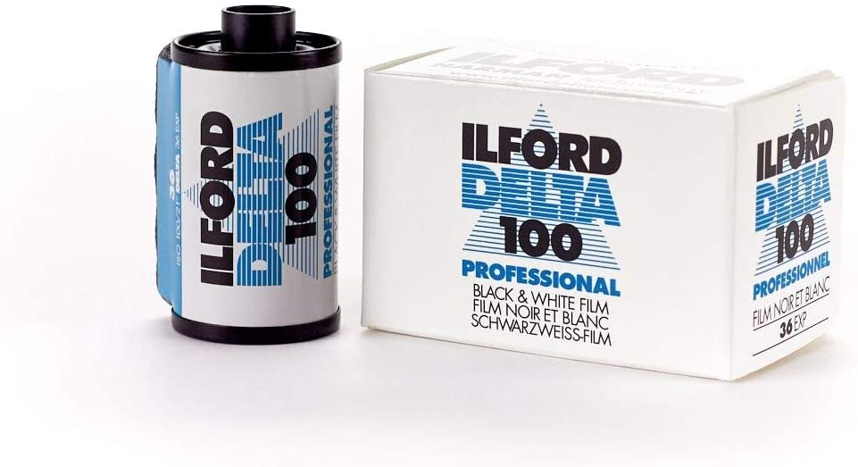 35 mm Black and White Print Film 135 Ilford 1887710 DELTA 3200 Professional ISO 3200 36 Exposures