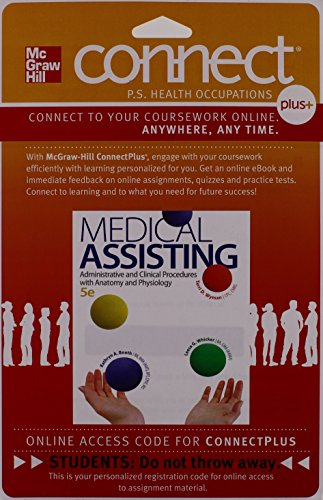 Connect 2-Semester Access Card for Medical Assisting: Administrative and Clinical Procedures