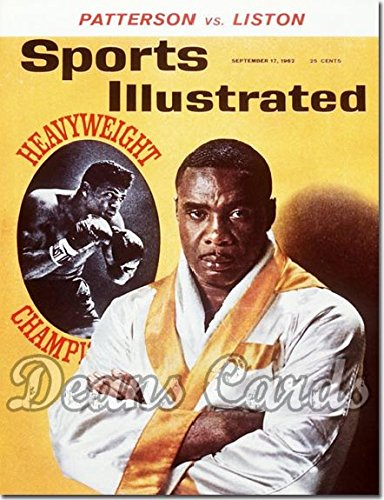 Sports Illustrated September 17 1962 - Sonny Liston (Magazine / Publication) (Has Address Label on Front) Dean's Cards 3 - VG