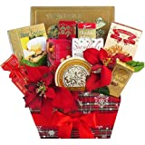 Season's Greetings Christmas Holiday Gourmet Food Gift Basket