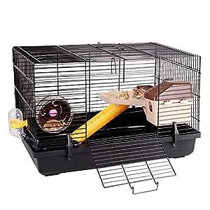 Pet supplies Hamster Jaula 2 Plantas Planta de hámster Jaula del ...