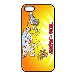iPhone 5,5S Cell Phone Case Funny Cartoon Tom and Jerry PP8P298126