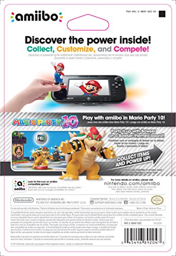 Amazon Com Bowser Amiibo Super Mario Bros Series Wii U
