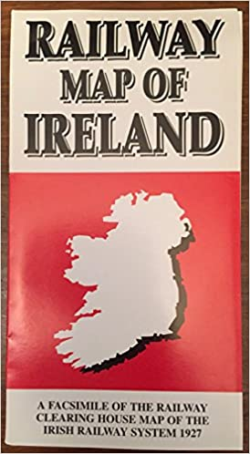 Map Of Ireland Book.Official Railway Map Of Ireland Facsimile Railway Clearing House Map