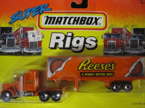 Kenworth Big Rig - Kenworth Truck Reese's Peanut Butter Cups Matchbox Super Rigs
