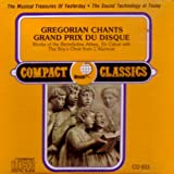 Gregorian Chants - Grand Prix du Disque