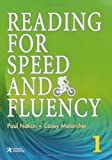 img - for Reading for Speed and Fluency 1 (Intermediate Level; Target 250 Words per Minute; Includes Answer Key & Speed Chart) book / textbook / text book