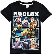 Thombase Boys T-Shirts 3D Cartoon T-Shirt Family Games Tops Tees for Boy Girl