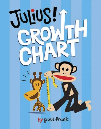 Paul Frank Stickers - Julius! Growth Chart