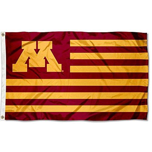 Minnesota Gophers Stars and Stripes Nation Flag