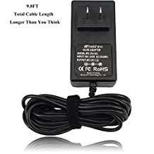 Molshine® (9.8ft Cable) 12V AC DC Power Adapter Charger Compatible PA150 PA130 PA5D PA-3, Fit for Yamaha Digital Piano Midi Keyboard (PA PSR DGX PSS YPG YPT DD Series & etc.)