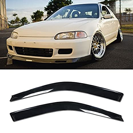 Amazon VXMOTOR For 92 95 Honda Civic 2DR Coupe Side Tinted