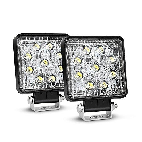 LED-Light-Bar-Nilight-NI15E-27W-LED-Work-Light-2PCS-42-27w-3000LMSpot-Fog-Light-Off-Road-Lights-Running-Lights-Boat-Lights-Driving-Lights-Led-Work-Light-SUV-Jeep-Lamp2-Years-Warranty