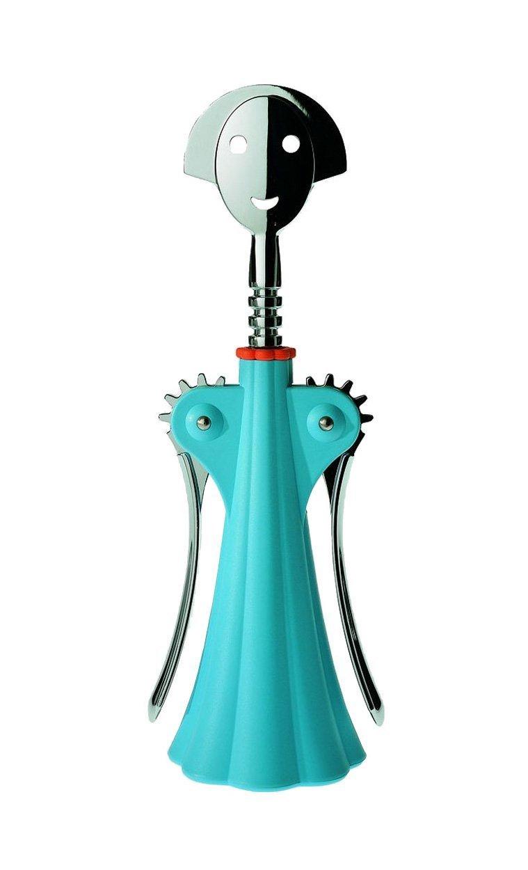 A di Alessi Anna G. Corkscrew, Blue by Alessi