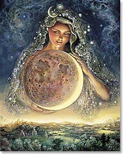 Leanin' Tree Moon Goddess - Poster