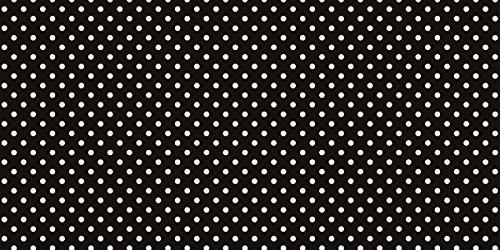 Fadeless  Bulletin Board Art Paper, Classic Dots-Black & White,  48