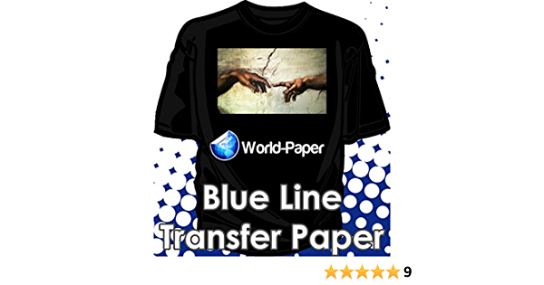 50PK DARK TRANSFER PAPER FOR INKJET PRINTING