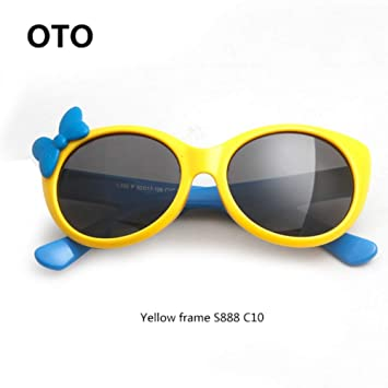 MoHHoM Gafas De Sol para Niños, New Kids Gafas Polarizadas ...