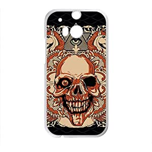 Leopard Skull Custom Protective Hard Phone Cae For HTC One M8