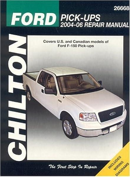 Ford F-150 Pick-Ups 2004-06 (Chilton Total Car Care Series Manuals ... 06 Ford F 150 Engine Diagram Amazon.com