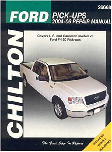 Ford f 150 pick ups 2004 06 chilton total car care series manuals ford f 150 pick ups 2004 06 chilton total car care series manuals chilton 9781563926228 amazon books fandeluxe Images