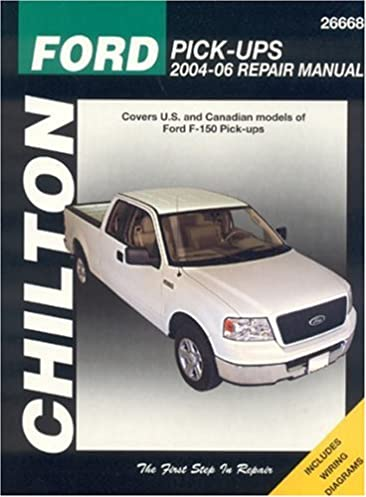 ford f 150 pick ups 2004 06 chilton total car care series manuals rh amazon com F-150 Manual Transmission F-150 Manual Transmission